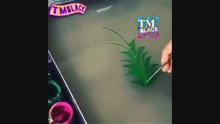 نقاشی روی آب