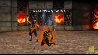 تمام فیتالیتی های بازی  Mortal Kombat 4