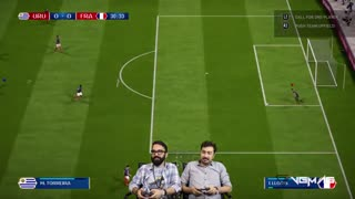 بازی اروگوئه فرانسه   جام جهانی 2018 روسیه