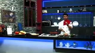 Ashpazi - Making of Pizza - آشپزی - طرز تهیه پیتزا