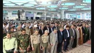 نماز عید فطر به امامت امام خامنه ای