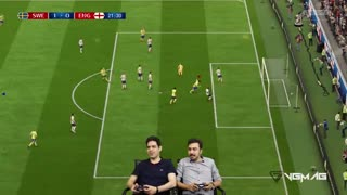 بازی انگلیس سوئد   جام جهانی 2018 روسیه