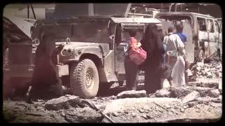 اعلام خلافت ابوبکر البغدادی در شهر موصل