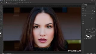 how to adjust and change facial features in photoshop
