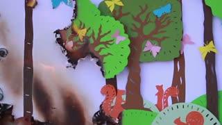 آگاهی عمومی در باره آتش سوزی جنگل
