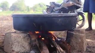 فیلم مستند طرز تهیه ماهی پلو با انواع ادویه خوشمزه هندی