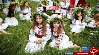 اوکراینیها سیزدهبدر و چهارشنبهسوری را در یک روز برگزار کردند