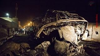 توضیحات رئیس پلیس راه درباره جزئیات حادثه آتش گرفتن اتوبوس در سنندج