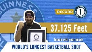 ثبت رکوردهای گینس جدید برای بسکتبال