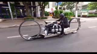رونمایی از موتور سیکلت جدید Dumont با موتور هواپیما
