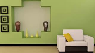 ترکیب های رنگی مختلف برای دیوار