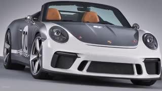 ویدیو کانسپت خودرو اسپرت پورشه 911 Speedster