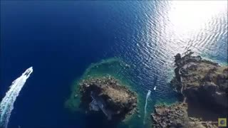 نگاهی به جزیره سانتورینی یونان