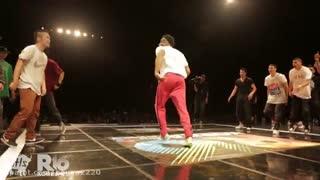 مسابقه رقص هیپ هاپ بین نماییندگان کره و امریکا (امریکا vs کره)