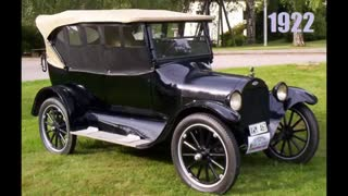 Evolution of the automobile. From the beginning till 2016. Evolution of cars.