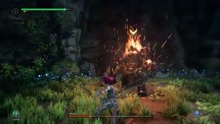 مبارزه با باس Wrath در بازی DarkSiders 3