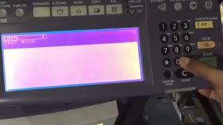 آموزش رفع خطای کد c440 در دستگاه فتوکپی توشیبا مدل e studio 450