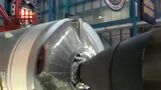 ماکت فول سایز از راکت ساترن ۵- قویترین راکت تاریخ-آپولو۱۱