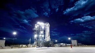 سیستم جدید نجات سرنشینان فضاپیمای  Blue Origin