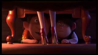 تریلر انیمیشن زیبای هفت کوتوله و کفش  قرمز