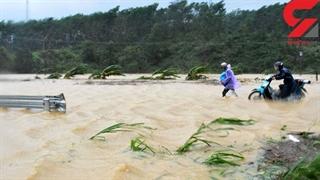 کشته و ناپدید شدن دهها نفر در سیل ویتنام