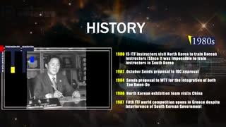تاریخچه تصویری تکوان-دو ITF
