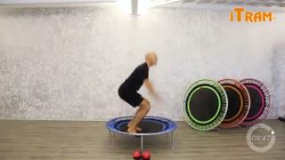 ویدئو آموزشی تمرینات جامپینگ فیتنس P11  ( ترامپولین )