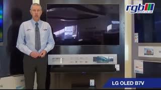 معرفی ویدئویی تلویزیون اولد 55 اینچ و 4K ال جی مدل B7V55