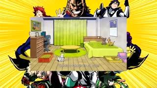 انیمه مدرسه قهرمانانه من:  اتاق پسرا