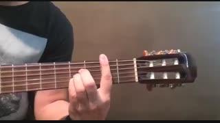 آموزش گیتار: جلسه 10، آموزش آکوردهای لا ماژور هفت، سی ماژور و سی بمل ماژور