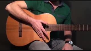 آموزش گیتار: جلسه ۱۱ قسمت ۱، تکنیک آپاگادو بخش ۲