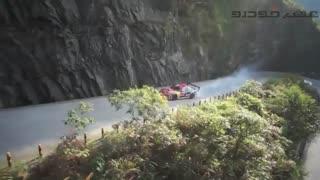 مسابقه دریفت در کوهستان