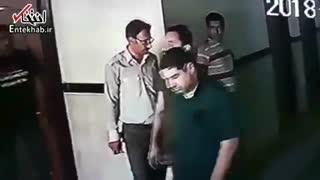 دستگیری شهرام جزایری در گمرک بازرگان