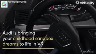 بازی جالب واقعیت مجازی از شرکت AUDI