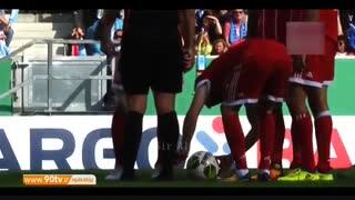 لحظات فان و کمدی فوتبال جهان در فصل گذشته