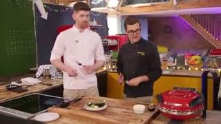 تست پیتزای خانگی توسط سرآشپزها