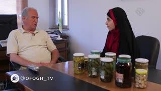 برنامه تلویزیونی یه کار خوب - قسمت 1 - خانم نعیمی (تولید رب خانگی)