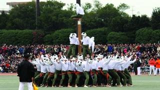 مسابقه ورزشی سنتی و خطرناک ژاپنی Bo-Taoshi