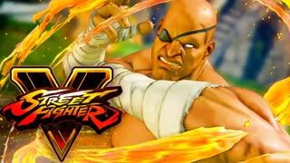 Streetfighter V Arcade Edition Sagat Theme Song