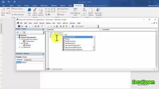 ماکرنویسی در محیط نرم افزار Word2016 (قسمت دوم)