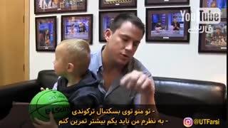 رقابت بچه نابغه در پرتاب توپ با بردلی کوپر - زیرنویس فارسی
