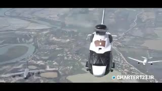 گردش خانواده ایرباس در آسمان | Charter123