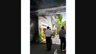 لابل در روز اول نمایشگاه صنعت ساختمان