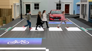 دیجیتالی کردن خیابان ها برای بهبود ایمنی عابرین پیاده