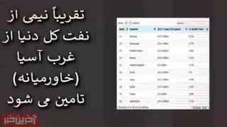 تهدید نفتی ایران به زبان ساده