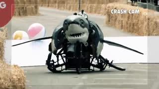 مسابقات رانندگی  با ماشین های احمقانه 1 - اسپانسر Red bull