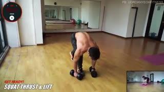 آموزش بدن سازی در منزل - 1