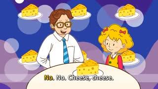آموزش زبان انگلیسی برای کودکان به روش singsing : آموزش با شعر Do you like cheese? I like cheese. (Liking)