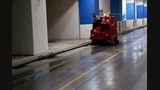 سوییپر صنعتی - دستگاه سوییپر-اسکرابر