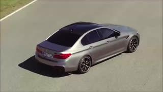 رانندگی در جاده ها با2019 BMW M5